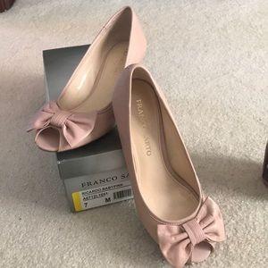Franco Sarto Baby Pink Heel